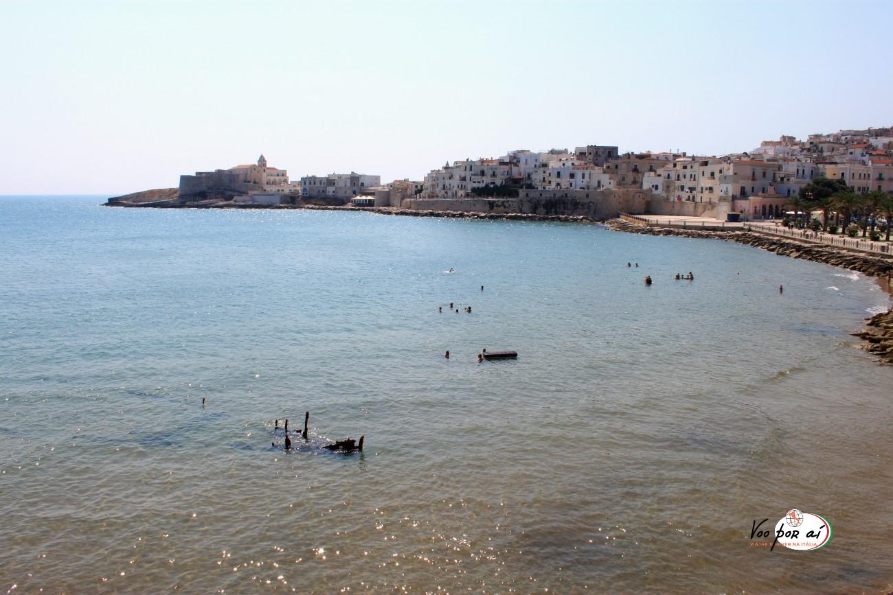 Vieste- Um tesouro escondido em Puglia, no sul da Itália